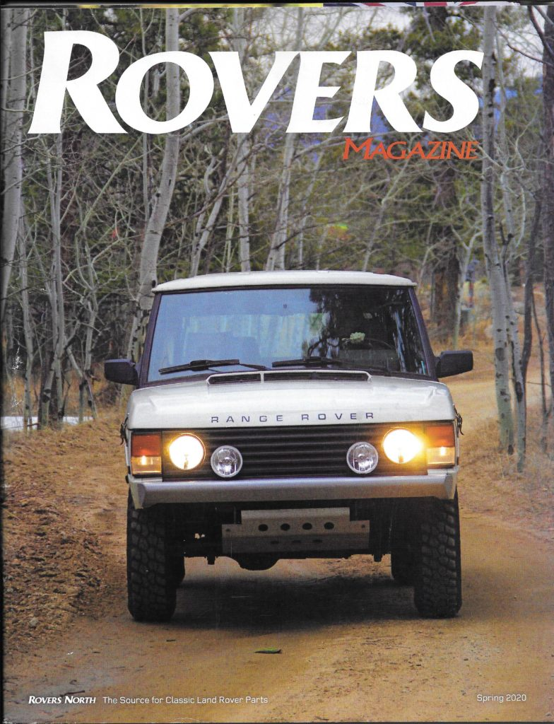 Rovers Magazine Cover Spring 2020