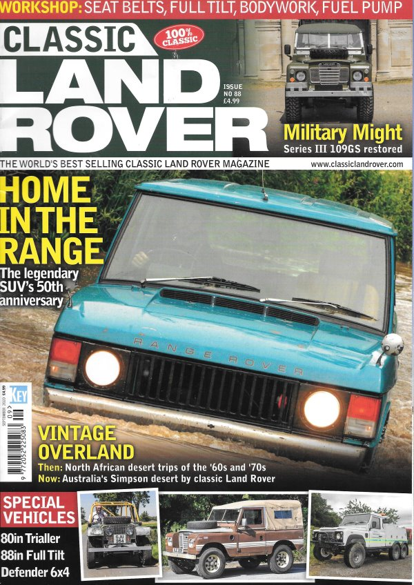 Classic Land Rover SEP_2020_Cover_WEB